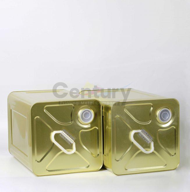 Thùng vuông 350 lít tráng vàng